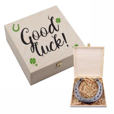 """Hufeisen-Box """"Good Luck"""""""