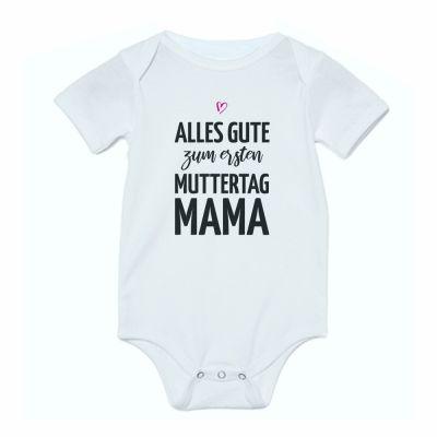 """Personalisierter Babybody """"Alles Gute zum [Zahl]. Muttertag, Mama"""""""