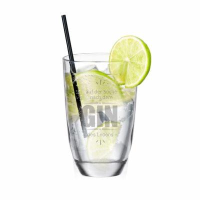 """GIN-Glas """"Auf der Suche nach dem GIN des Lebens"""""""