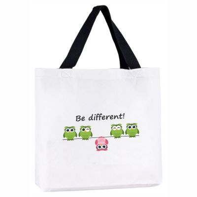 "Tragetasche ""Be different"""