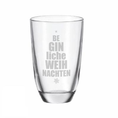 """GIN-Glas """"BeGINliche Weihnachten"""""""