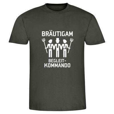 "T-Shirt ""Bräutigam Begleitkommando"" - Herren"