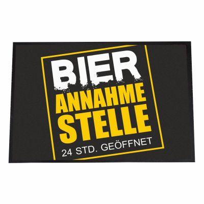 """Fußmatte """"Bier Annahmestelle"""""""