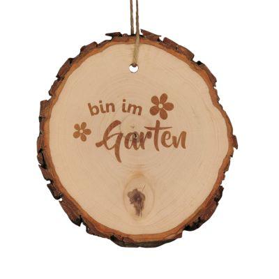 """Baumscheibe """"Bin im Garten"""""""