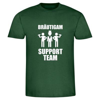 "T-Shirt ""Bräutigam Supportteam"" - Herren"