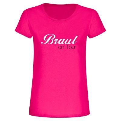 """T-Shirt """"Braut on Tour"""" - Damen"""