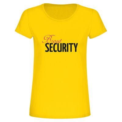 """T-Shirt """"Braut Security"""" - Damen"""