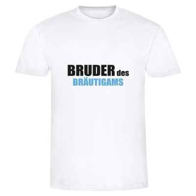 """T-Shirt """"Bruder des Bräutigams"""" - Herren"""