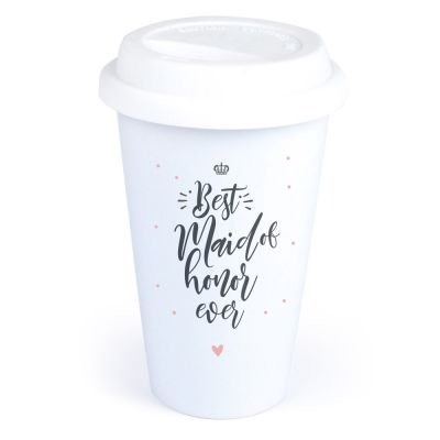 """Coffee-to-go Becher """"Best Maid of Honor"""""""