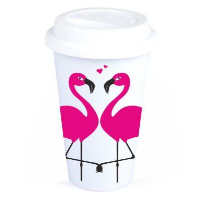 "Coffee-to-go Becher ""Flamingo"""