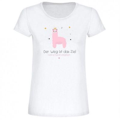 "T-Shirt ""Der Weg ist das Ziel"" - Damen"