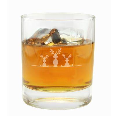 "Whiskyglas ""3 Elche"""