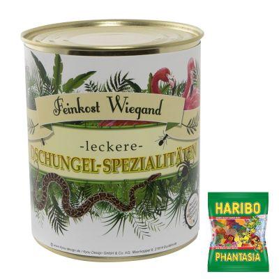 Dschungel-Spezialitäten aus der Dose, 200g Inhalt