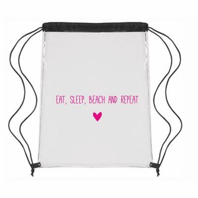 """Festival-Bag """"Eat, sleep, beach, repeat ♥"""""""