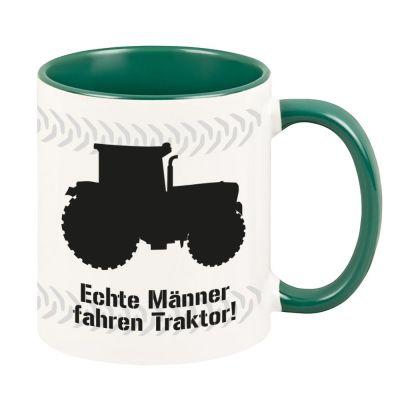 "Tasse ""Echte Männer fahren Traktor"""