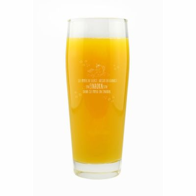 """Trinkglas """"Sei immer Du selbst, ausser Du kannst ein Einhorn sein, dann sei immer ein Einhorn!"""""""