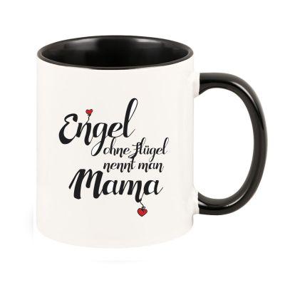 "Tasse ""Engel ohne Flügel nennt man Mama"""