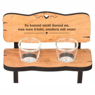 """Schnapsbank """"Es kommt nicht darauf an, was man trinkt, sondern mit wem"""""""