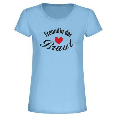 """T-Shirt """"Freundin der Braut"""" - Damen"""