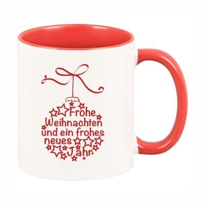 """Tasse """"Frohe Weihnachten"""" (Weihnachtskugel)"""