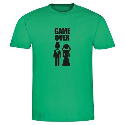 """T-Shirt """"GAME OVER"""" - Herren"""