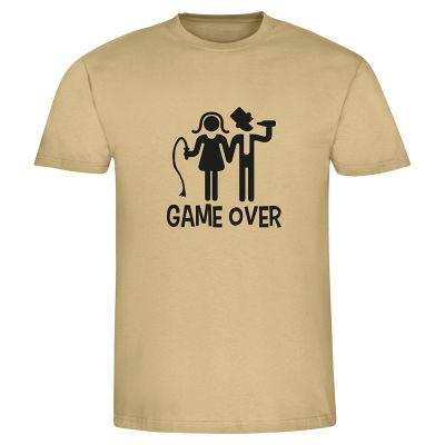 """T-Shirt """"GAME OVER + Peitsche"""" - Herren"""