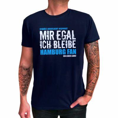"""T-Shirt """"Hamburg Fan - ein Leben lang"""""""