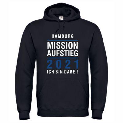 """Hoodie """"Hamburg - Mission Aufstieg"""""""