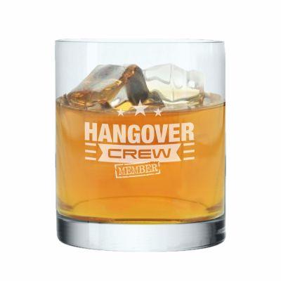 "Whiskyglas ""Hangover Crew   Member"""