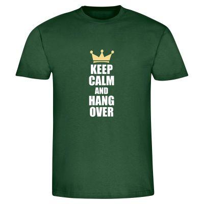 "T-Shirt ""Keep calm & hang over"" - Herren"