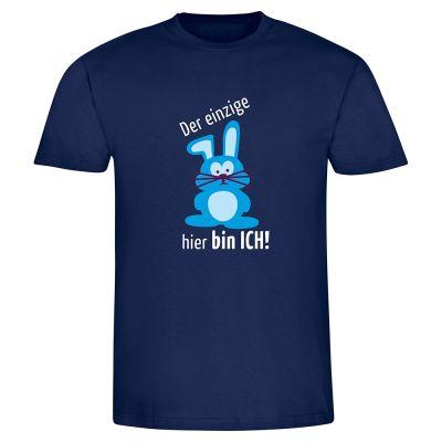 """T-Shirt """"Der einzige Hase hier bin ICH"""" - Herren"""