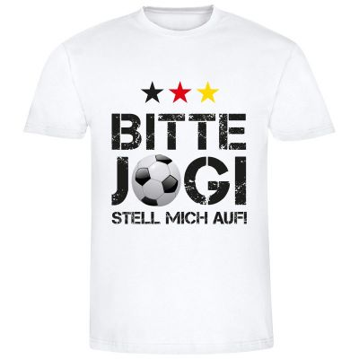 "T-Shirt ""Bitte Jogi stell mich auf!"" - Herren"