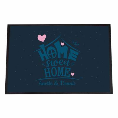 "Fußmatte ""Home Sweet Home"" - personalisiert"