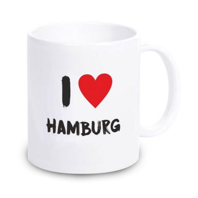 "Tasse ""I love Hamburg"""