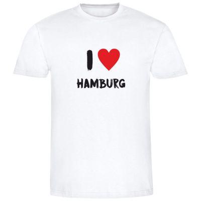 """T-Shirt """"I love Hamburg"""" - Herren"""