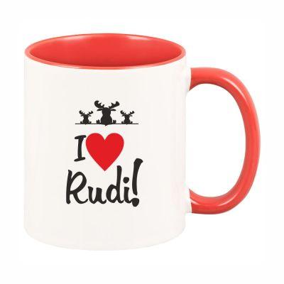 """Tasse """"I ♥ Rudi"""""""