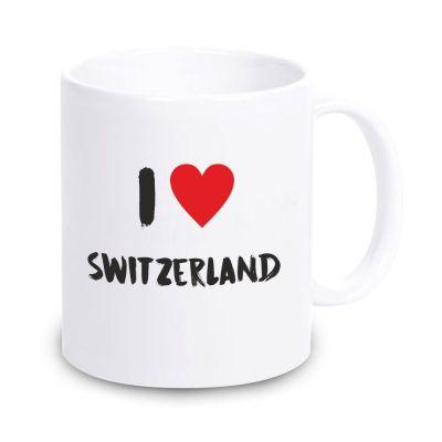 "Tasse ""I ♥ Switzerland"""