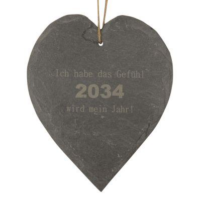 """Schieferherz """"Ich habe das Gefühl 2034 wird mein Jahr!"""""""