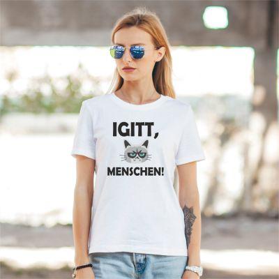 """T-Shirt """"Igitt, Menschen!"""""""