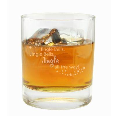 """Whiskyglas """"Jingle Bells"""""""