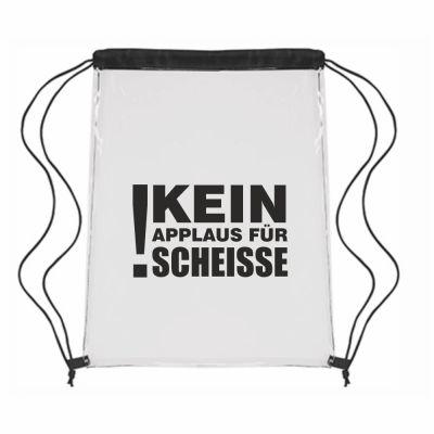 """Festival-Bag """"Kein Applaus für Scheisse"""""""