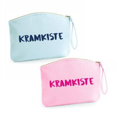"Kulturtasche ""Kramkiste"" (Farbe: rosa oder hellblau)"