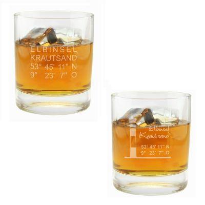"""Whiskyglas """"Krautsand"""" (verschiedene Motive)"""
