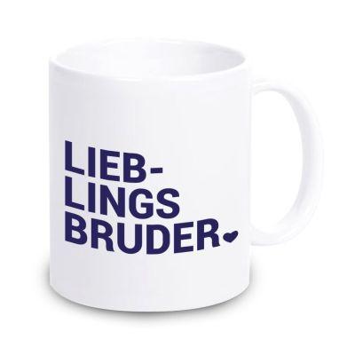 "Tasse ""Lieblingsbruder ♥"""