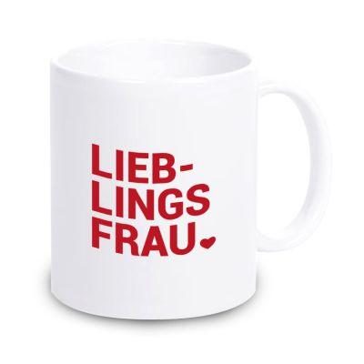 """Tasse """"Lieblingsfrau ♥"""""""