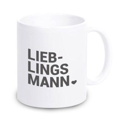 "Tasse ""Lieblingsmann ♥"""