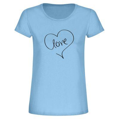 """T-Shirt """"Liebe"""" - Damen"""