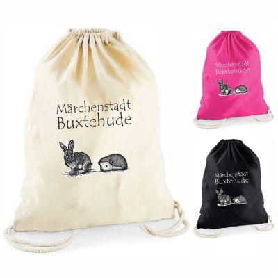 """Statement-Turnbeutel """"Märchenstadt Buxtehude"""" (ohne Rahmen)"""