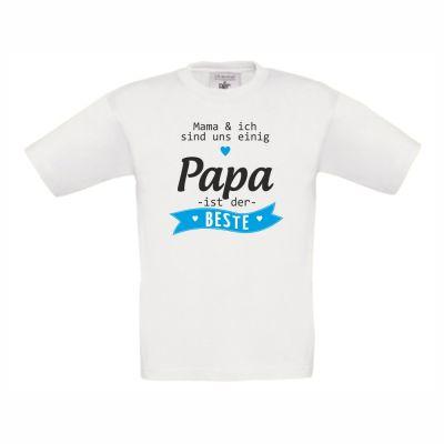 """Kinder T-Shirt """"Papa ist der Beste!"""""""