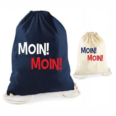 "Statement-Turnbeutel ""Moin! Moin!"""